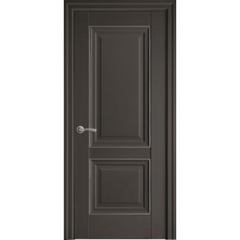 Двери Новый Стиль ИМИДЖ ГЛУХОЕ молдинг антрацит
