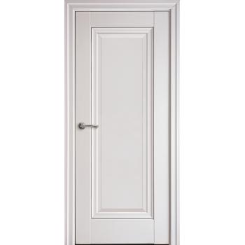 Двери Новый Стиль ПРЕСТИЖ глухое с молдингом белый матовый