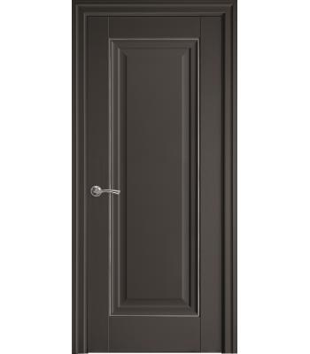 Двери Новый Стиль ПРЕСТИЖ глухое молдинг антрацит