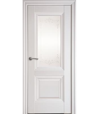 Двери Новый Стиль ИМИДЖ с рисунком Р2 магнолия