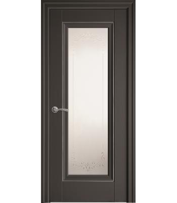 Двери Новый Стиль ПРЕСТИЖ рисунок М2 молдинг антрацит