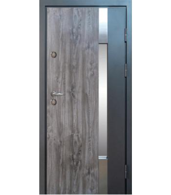 Двери МAGDA (Магда) Металл/Мдф  ТИП 14 модель 900 дуб кантри/ белое дерево