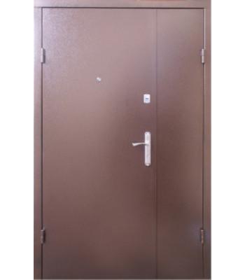 Входные двери Форт  Метал/Метал медь антик 1200