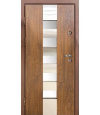 Двери МAGDA (Магда) Металл/Мдф  ТИП 14 модель 700 дуб бронзовый