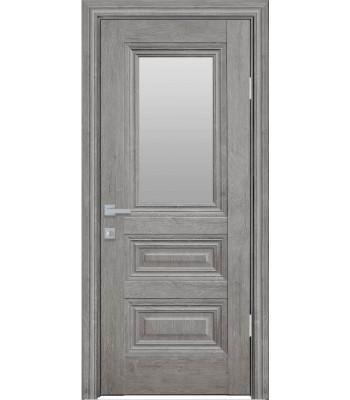 Двери Новый Стиль ПРОВАНС Камилла со стеклом орех скандинавский