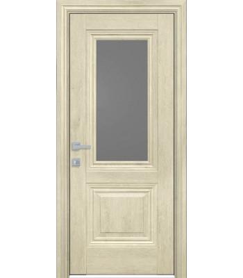 Двери Новый Стиль ПРОВАНС Камилла со стеклом орех гималайский