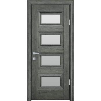 Двери Новый Стиль ПРОВАНС Тесса со стеклом орех сибирский
