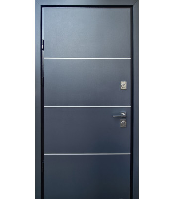 Двери STRAJ PROOF Giada D антрацит/ Colo VIN белый Терморазрыв на полотне и коробке