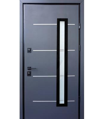 Двери STRAJ PROOF Giada E антрацит/ VIN белый Терморазрыв на полотне и коробке