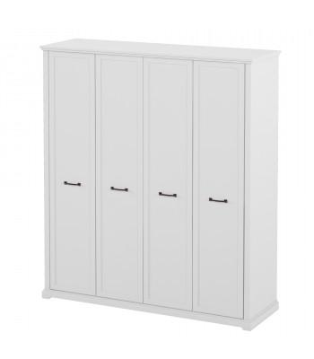 Шкаф для одежды, 4-х дверная Бьянка