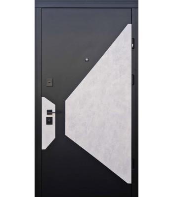 Двери Страж LUX STANDART Vesta черная фурнитура