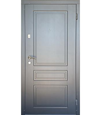 Двери входные Redfort Оптима плюс ГРАНД белые внутри