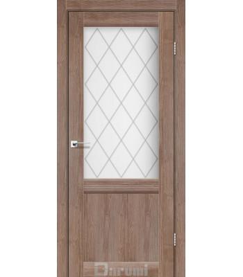 Двери Darumi Galant GL-01 орех бургун