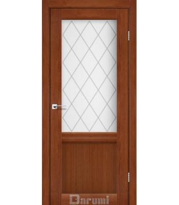 Двери Darumi Galant GL-01 орех роял