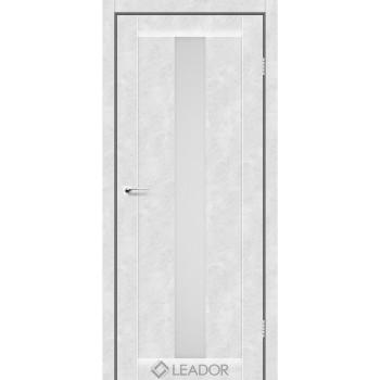 Двери Leador BARI белый бетон