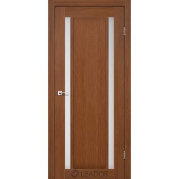 Двери Leador SATANIA браун сатин
