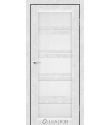 Двери Leador LODI бетон белый