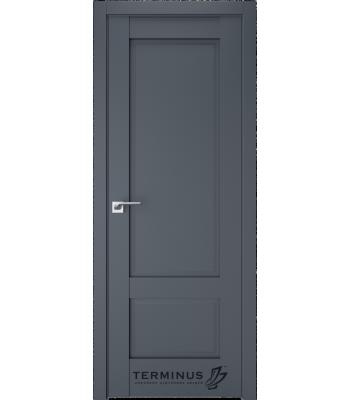 """Межкомнатные двери Терминус  """"NEO-CLASSICO"""" 606 ПГ антрацит"""