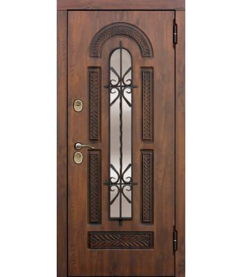Входная дверь Tarimus Group Виконт 95мм Vinorit Грецкий орех/Грецкий орех