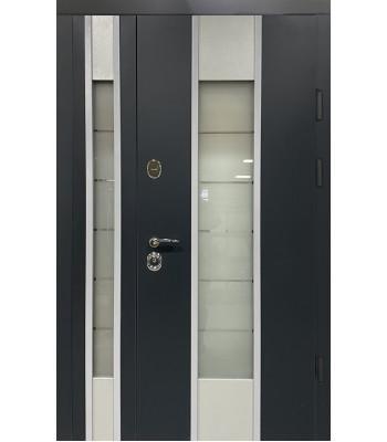 Двери Термопласт TERMOSTEEL 20-05 антрацит 1200*2050