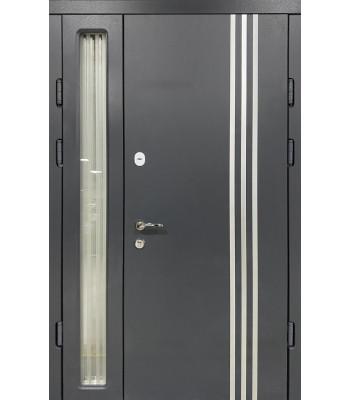 Двери Термопласт TERMOSTEEL 20-45 антрацит 1200*2050