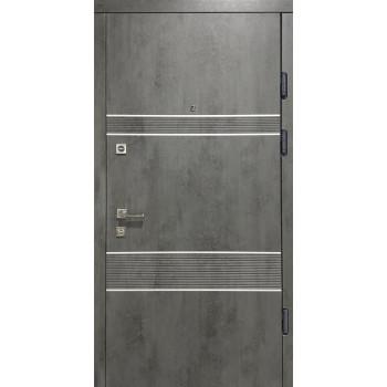 Двери Термопласт Классик 21-36 бетон темный