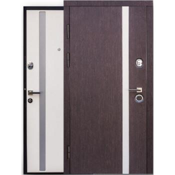"Двери  ""Steelguard"" MAXIMA AV-1 двухцветная"