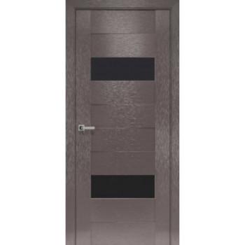 Двери Новый Стиль коллекция Orni-X Женева черное стекло