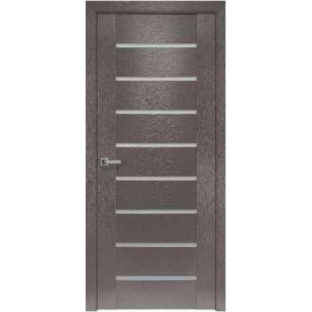 Двери Новый Стиль коллекция Orni-X Парма Х-мокко черное стекло