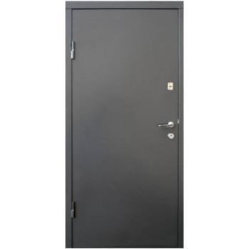 Двери Qdoors Вип М Горизонталь графит/дуб вулканический
