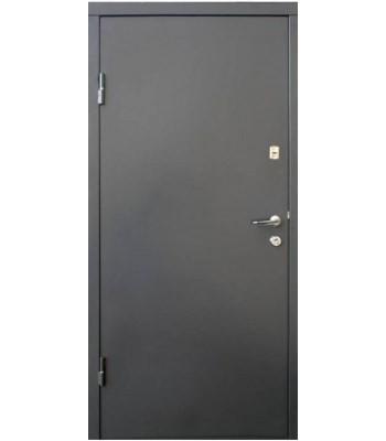 Двери Qdoors Вип М Горизонталь графит/дуб вулкан