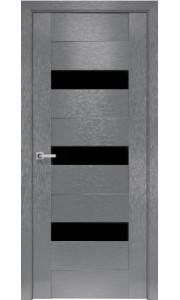 Двери Новый Стиль коллекция Orni-X Вена BLK  Х-серый