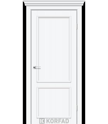 Межкомнатные двери KORFAD CLASSICO CL-03 со штапиком белый перламутр
