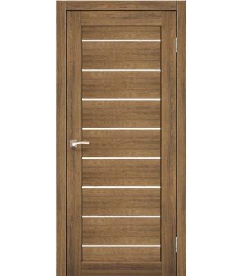 Межкомнатные двери KORFAD PIANO DELUXE PND-01 дуб браш стекло сатин