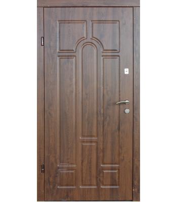 Двери входные REDFORT Оптима плюс Арка (улица) гнутый профиль