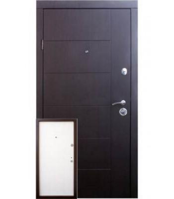Двери Qdoors эталон Аризона венге /белое дерево