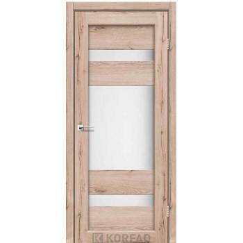 Межкомнатные двери KORFAD PARMA PM-01 дуб тобакко
