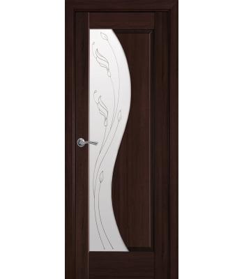 Двери Новый Стиль Эскада+Р2 каштан