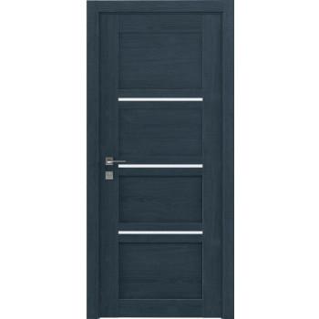 Двери Rodos Modern Quadro полустекло сосна кобальт