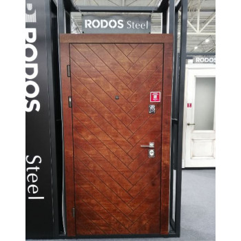 ВХОДНЫЕ ДВЕРИ RODOS Standart street 001 ФАНЕРА+ЛАК