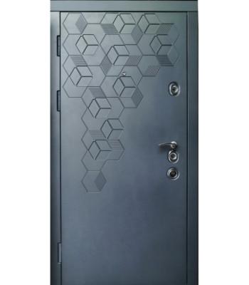 Двери входные REDFORT ЭЛИТ ФЛАГМАН белые внутри УЛИЦА ТЕРМОРАЗРЫВ РАМА 2 ЦВЕТА