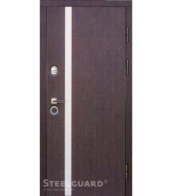 """Двери  """"Steelguard"""" MAXIMA AV-1венге УЛИЦА"""