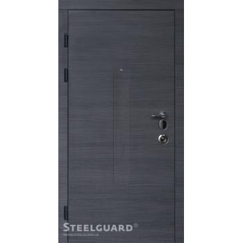 Двери Steelguard СЕРИЯ FORTE+Barca венге серый / белый мат