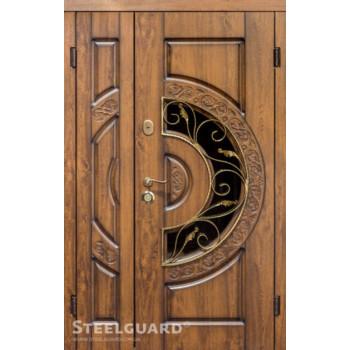 """Двери """"Steelguard"""" Optima (Оптима)  120*2050 стеклопакет"""
