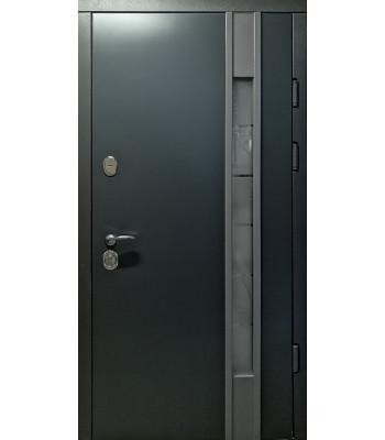 Двери входные REDFORT Эталон Авеню АНТРАЦИТ со стеклопакетом УЛИЦА 96 правая!!!