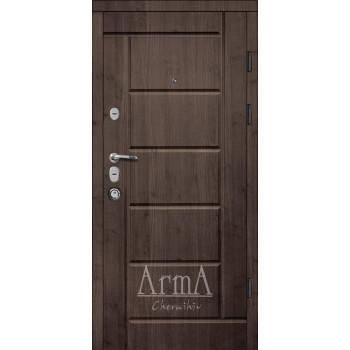 Двери МAGDA (Магда)  Элит Т-13 модель 116 ВЕНГЕ / БЕЛЫЙ МАТ
