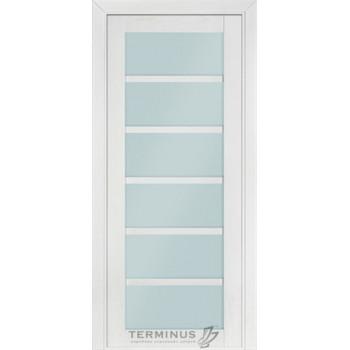 Межкомнатные двери Терминус Элит 307 остекленная патина