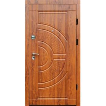 Входные двери Форт Трио Греция дуб золотой УЛИЦА
