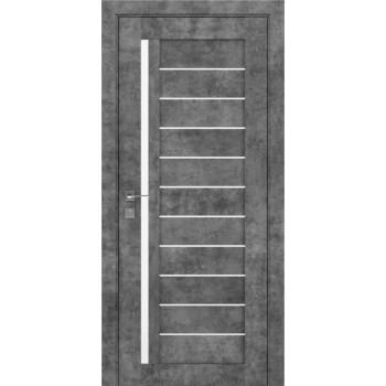 Двери Rodos Modern Bianca серый мрамор