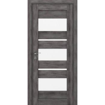 Двери Rodos Modern Polo со стеклом дуб шале